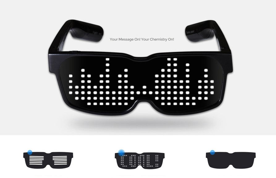 gafas con led chemion profesionales