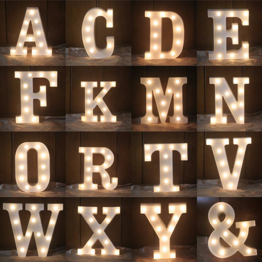 Letras luminosas